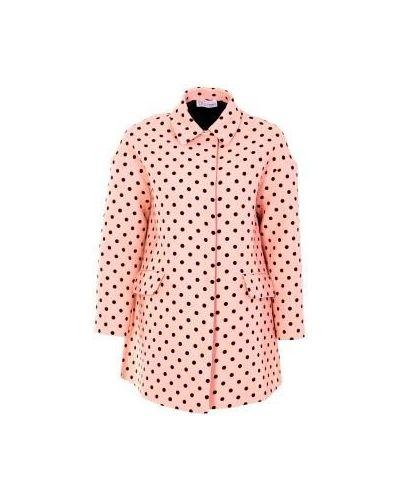Розовый плащ Valentino Red