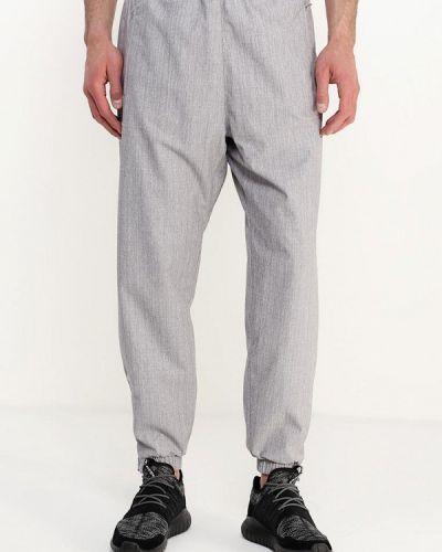 Серые спортивные брюки Adidas Originals