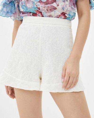 Повседневные белые шорты Арт-Деко