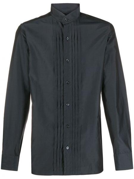 Pofałdowany jedwab koszula Tom Ford