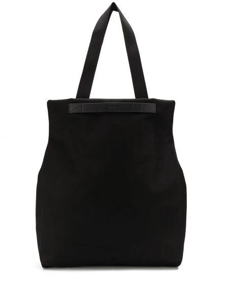 Черная нейлоновая кожаная сумка Mismo