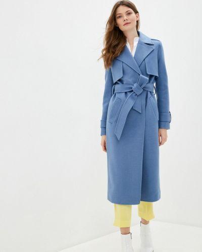 Синее пальто двубортное Vivaldi