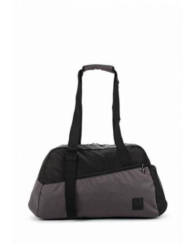 Серая спортивная сумка Reebok