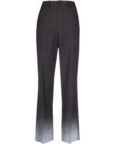 Spodnie z wysokim stanem z paskiem Ader Error