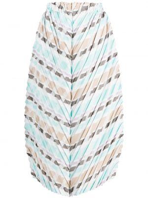 Плиссированная юбка - белая Issey Miyake