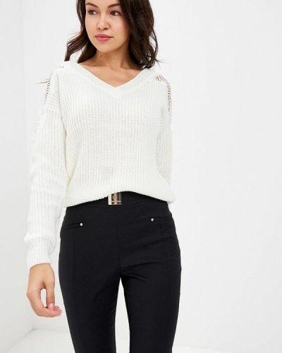 Белый пуловер Love Republic