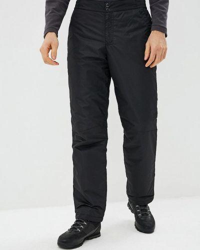 Черные брюки утепленные Sela