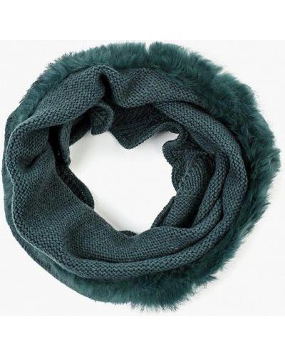 Зеленый шарф осенний Sabellino