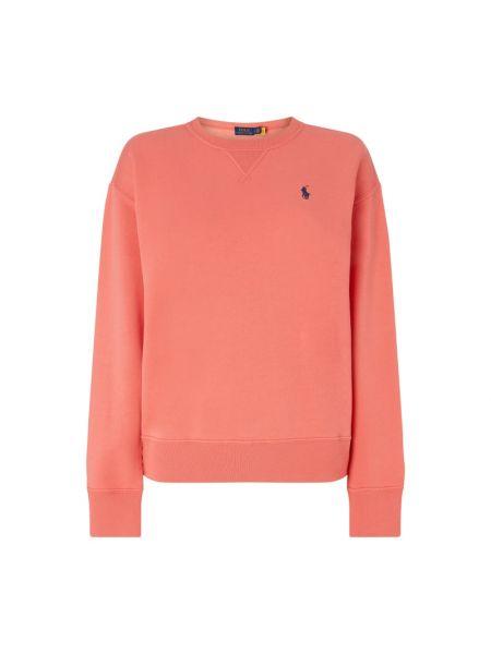 Pomarańczowa bluza bawełniana Polo Ralph Lauren