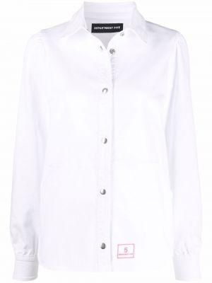 Рубашка на кнопках - белая Department 5