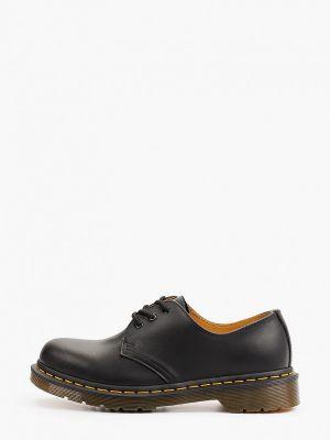Черные туфли осенние Dr Martens