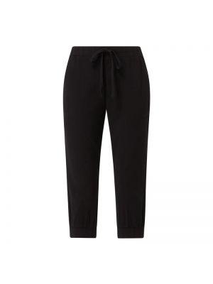 Czarne spodnie bawełniane Kaffe