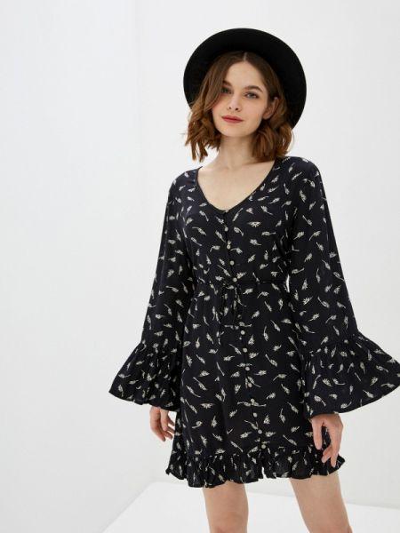 Платье прямое черное Billabong
