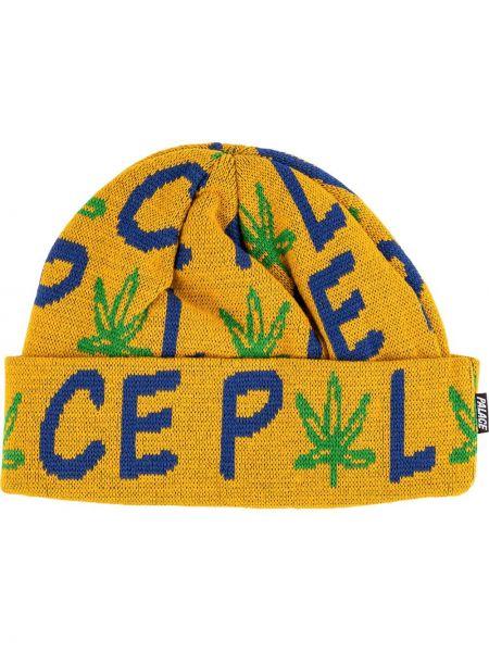 Zielona czapka bawełniana Palace
