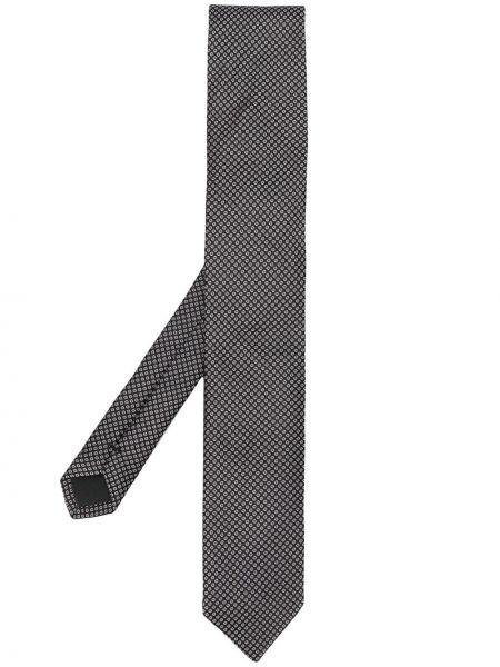 Классический черный галстук узкий Dolce & Gabbana
