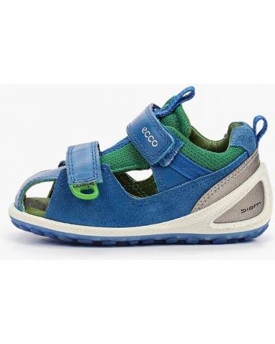 Синие сандалии Ecco