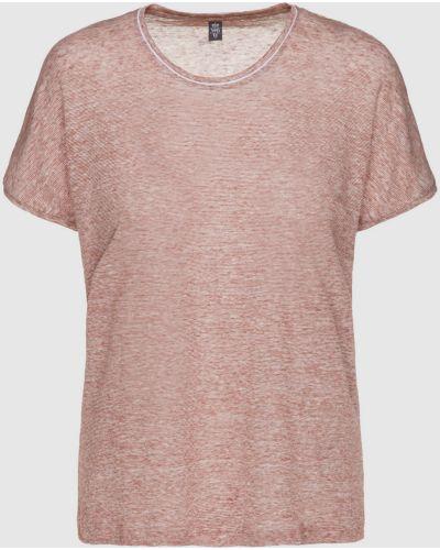 Льняная розовая футболка Eleventy