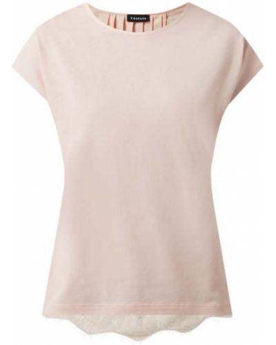 Różowa bluzka bawełniana Taifun