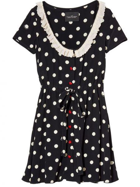 Платье мини короткое - черное Marc Jacobs