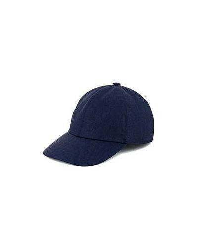Шерстяная синяя кепка Enrico Mandelli