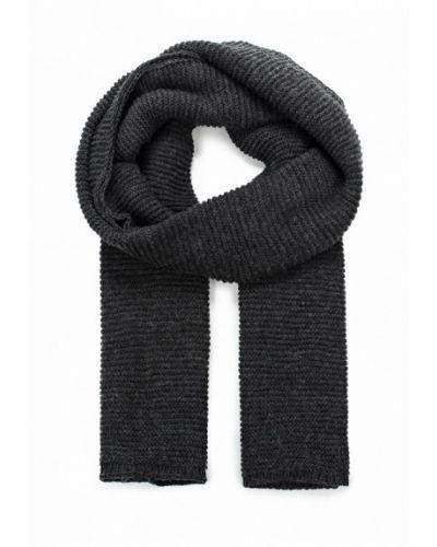 Серый шарф осенний Piazza Italia