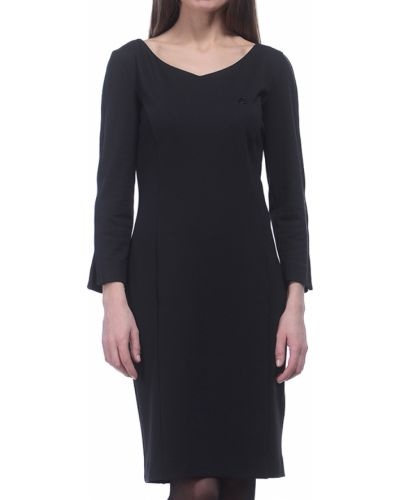 Платье из вискозы - черное Armani Jeans