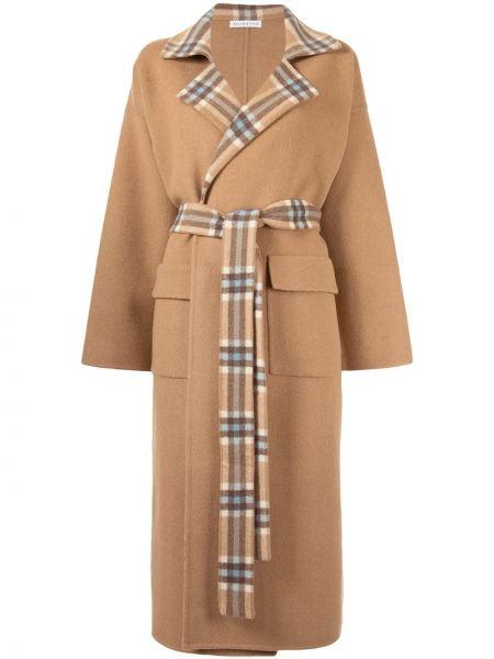 Длинное пальто с капюшоном Rejina Pyo
