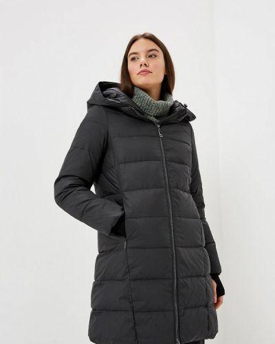 Зимняя куртка осенняя черная Lusio