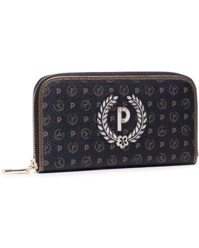 Brązowy portfel Pollini