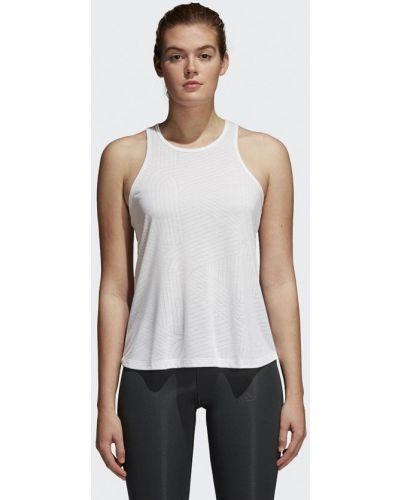 Белая майка спортивная Adidas