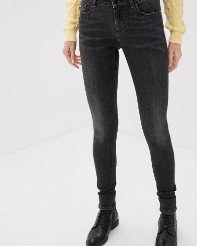 Серые джинсы-скинни узкого кроя Scotch&soda