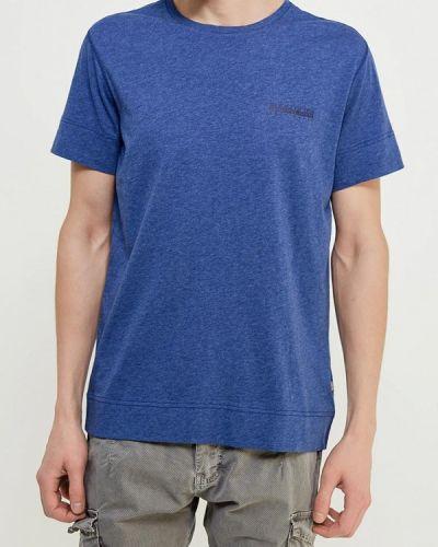 Синяя футболка Napapijri