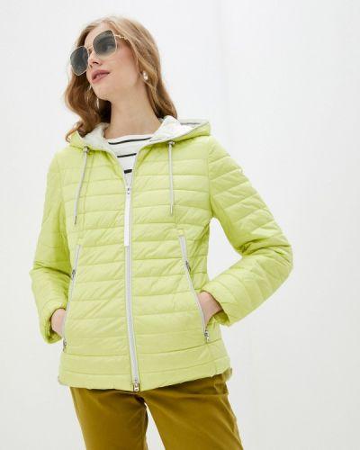 Зеленая утепленная куртка Gerry Weber