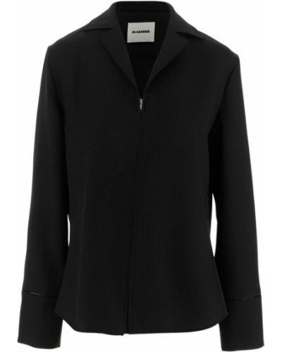 Czarna bluza dresowa Jil Sander