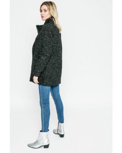 Черная утепленная куртка Only