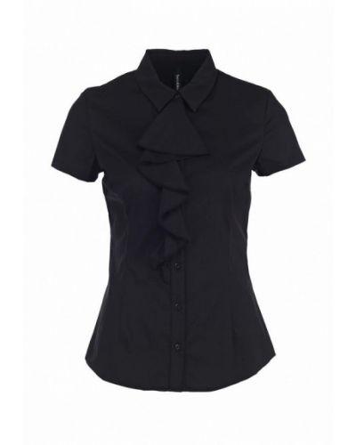 Блузка с коротким рукавом черная Bestia