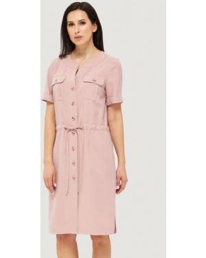 Платье платье-рубашка розовое Danna