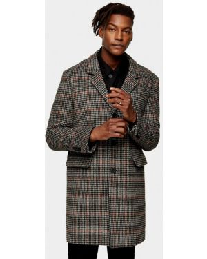 Пальто серое Topman