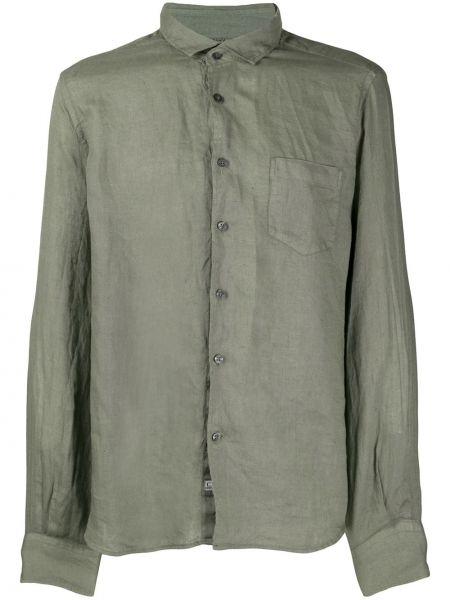 Koszula z długim rękawem klasyczna zielona C.p. Company