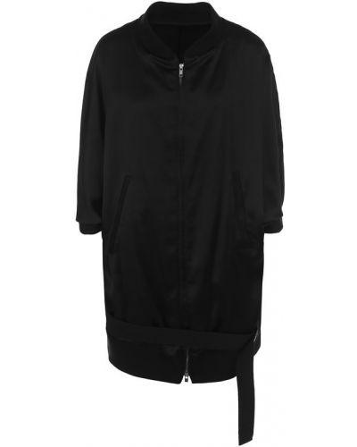 Куртка черная на молнии Ann Demeulemeester