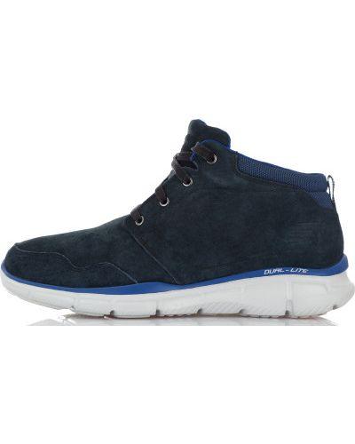 Кожаные ботинки спортивные мембранные Skechers