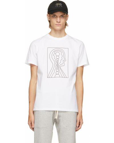 T-shirt bawełniana - biała Norse Projects