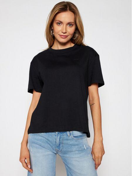 Czarny koszula jeansowa Pepe Jeans