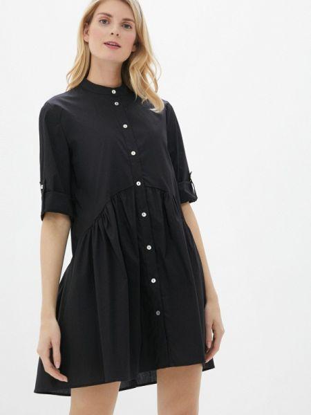 Платье прямое черное Perfect J