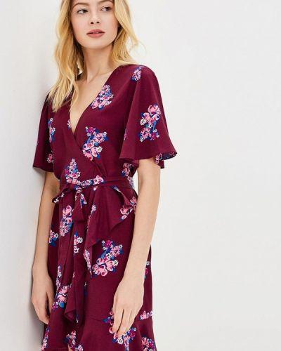 Платье весеннее фиолетовый Sweewe