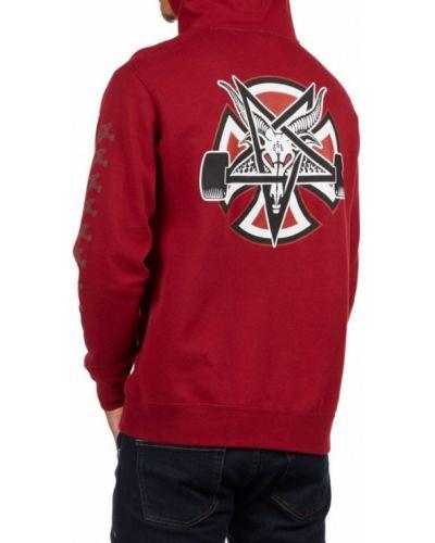 Красный пуловер Independent