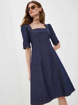 Синее джинсовое платье Vittoria Vicci