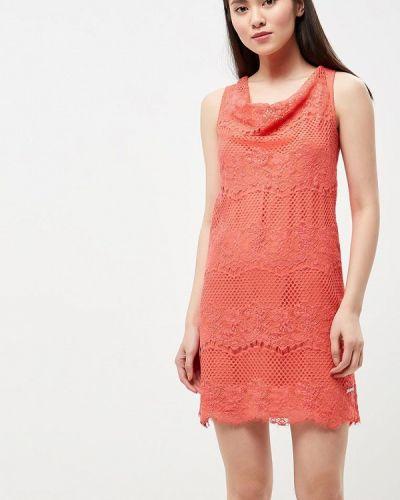 Платье весеннее красный Phard
