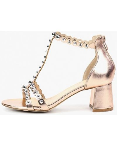 Босоножки на каблуке кожаные Ws Shoes
