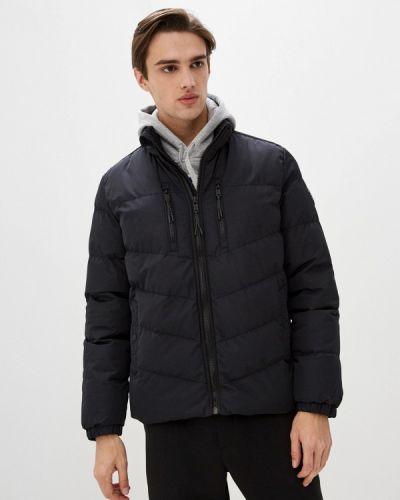 Черная утепленная короткая куртка Dissident